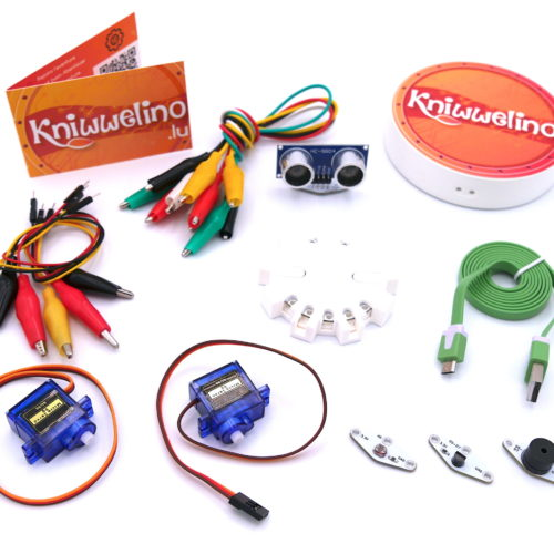 Contenu du Kniwwelino Box avec batterie
