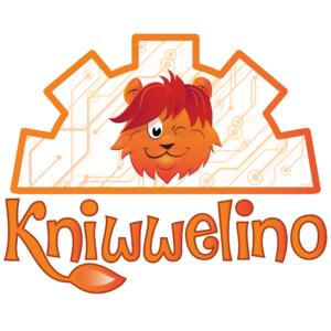 Kniwwelino fond avec Lino et le logo